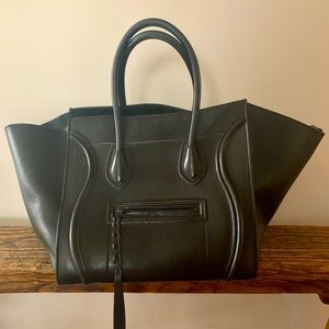 CELINE Phantom Luggage Calfskin Tote Medium